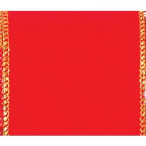 Wired Premium Red with Gold Trim #40 – 50 Yard Roll