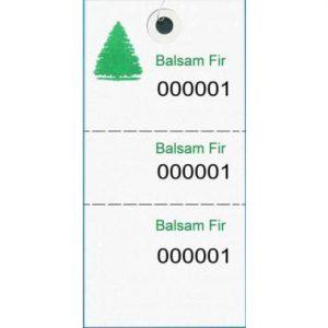Tyvek Species Tags – Balsam Fir