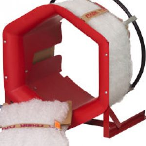 22″ Red Poly Baler