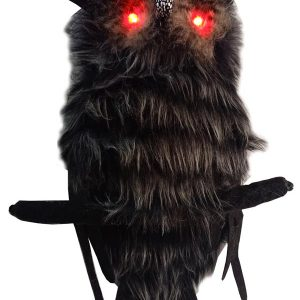 18″ Hanging Hairy Owl