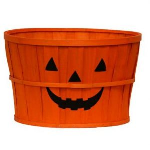 *Pumpkin Face Basket