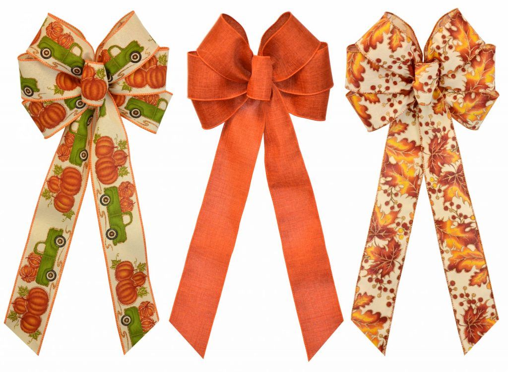 Wired Fall Bow Assortment