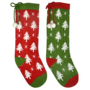 22″ Knitted Christmas Stockings