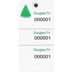 Tyvek Species Tags – Douglas Fir
