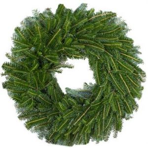 22″ Fraser Fir Wreath