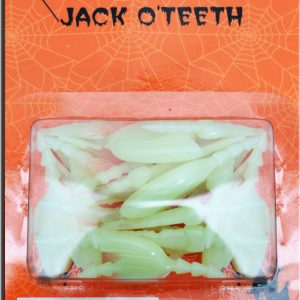 Glow In The Dark Jack O Lantern Teeth