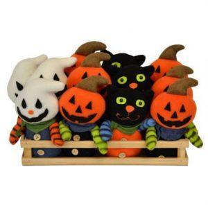 8″ Plush Standing Halloween Figures