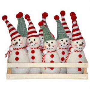 Snowman Holiday Ornament w/Tray