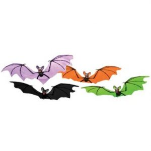 21″ Colorful Hanging Bats