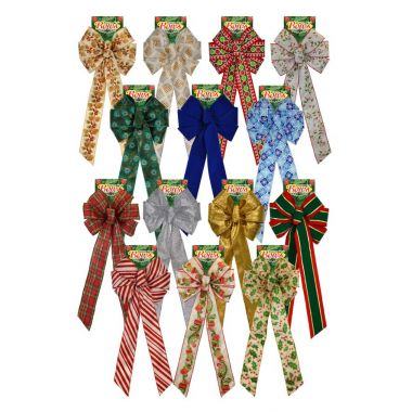 Holiday Bow Display Mixed Bow Replacement Pack