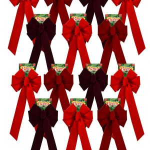 Holiday Bow Display Standard Bow Replacement Pack