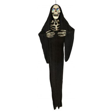 62″ Hanging Ghoul w/Color Changing LED