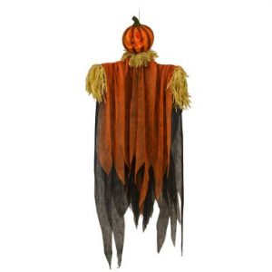 66″ Hanging Pumpkin Ghoul w/LED