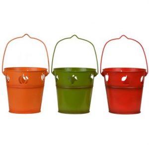 6″ Metal Buckets