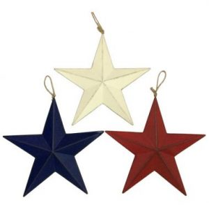 12″ Patriotic Metal Stars