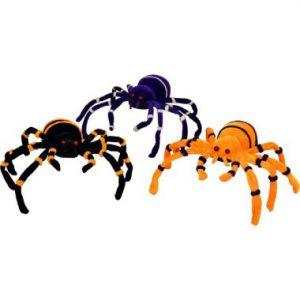 12″ Plush Spiders