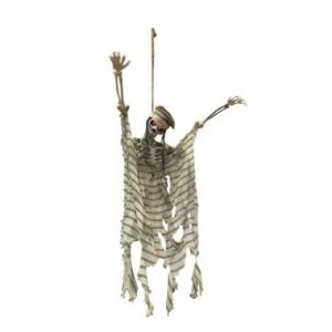 50″ Hanging Skeleton w/LED Light