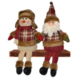 13″ Plush Holiday Sitters