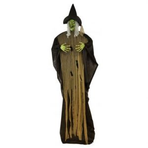 108″ Hanging Witch w/LED