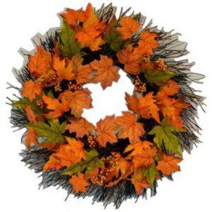 20″ Fall Wreath