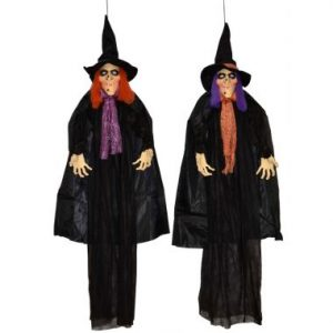 70″ Hanging Witch w/ LED