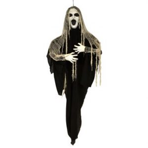 60″ Hanging Ghoul w/Light Up Face & Sound
