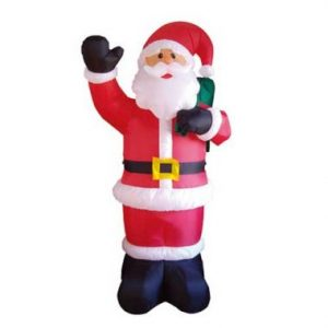 10 FT Inflatable Animated Santa with Waving Arm