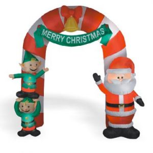 9 FT Inflatable Holiday Arch