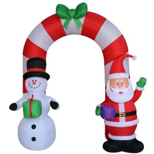 8.5 FT Inflatable Holiday Arch