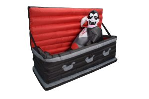 5 FT Inflatable Rising Vampire Coffin