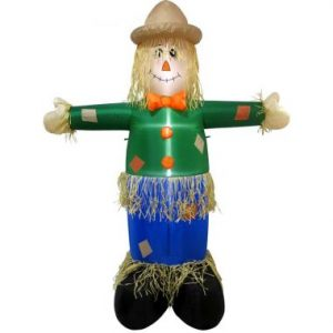 6 FT Inflatable Scarecrow