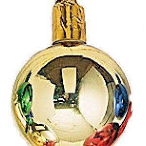 50mm Glass Ball / Gold