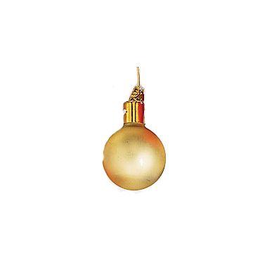 35mm Matte Glass Ball /Gold