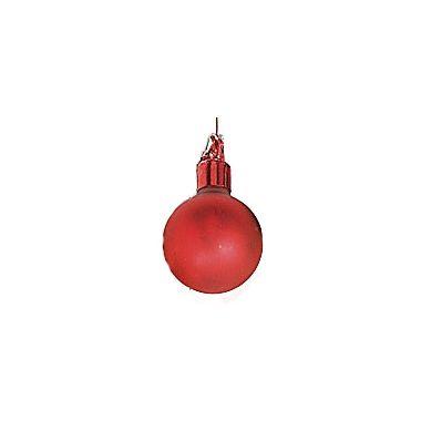 35mm Matte Glass Ball / Red