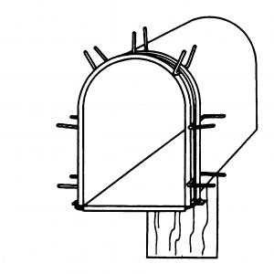 Mailbox Huggie Frame