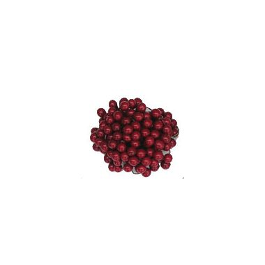 Burgundy Holly Berries – 8mm
