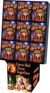 Pumpkin Masters Carving Kit Floor Display – 72
