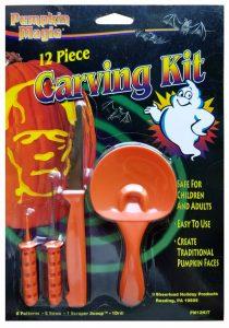 Pumpkin Magic 12 Piece Carving Kit