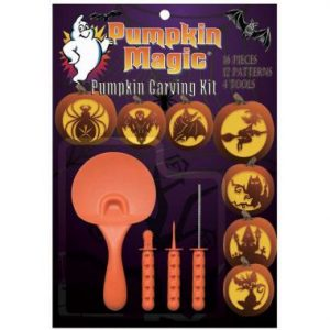 Pumpkin Magic 16 Piece Carving Kit