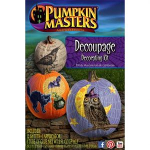 Pumpkin Masters Decoupage Carving Kit