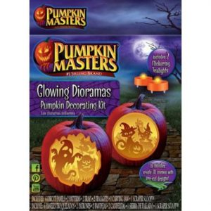Pumpkin Masters Glowing Diaorama
