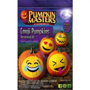 Pumpkin Masters Emoji Decorating Kit