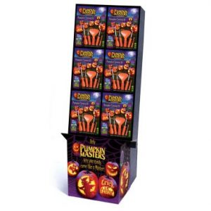Pumpkin Masters Carving Kit Floor Display – 36