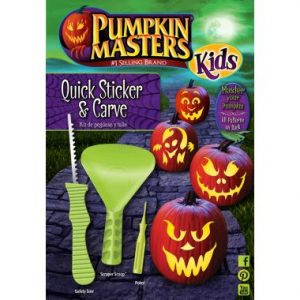 Pumpkin Masters Kids Quick Sticker & Carve