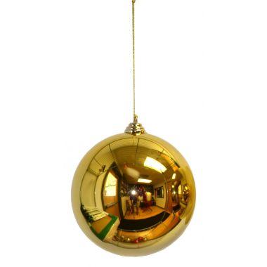 4″ Gold Plastic Millimeter Balls