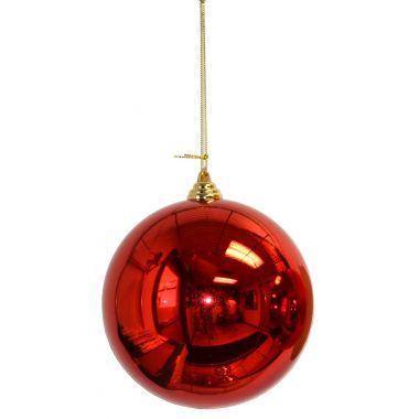 4″ Red Plastic Millimeter Balls