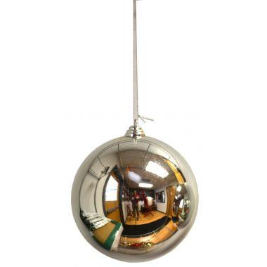 4″ Silver Plastic Millimeter Balls