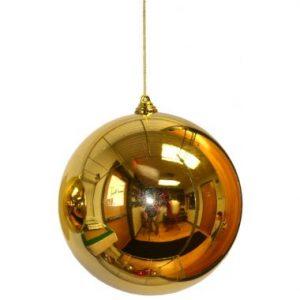 8″ Gold Plastic Millimeter Balls