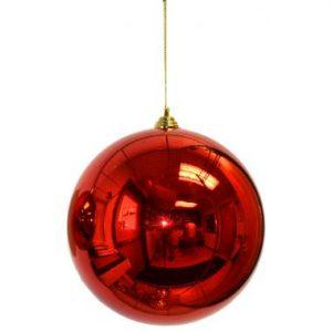 8″ Red Plastic Millimeter Balls