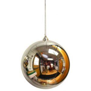 8″ Silver Plastic Millimeter Balls